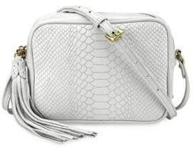 GiGi New York Madison Python Leather Crossbody Bag