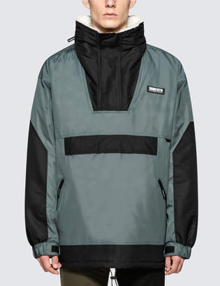 Thisisneverthat Puffy Half Zip Parka Jacket
