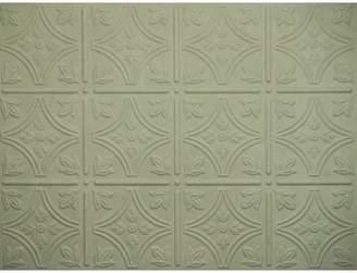 MirroFlex Savannah Backsplash Wall Paneling 18 x 24 Field Tile in EccoFlex Paintable