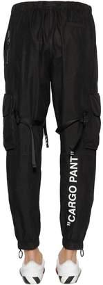 """Off-White Off White """"Cargo Pant"""" Parachute Nylon Pants"""