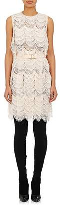 Givenchy WOMEN'S BELTED LACE DRESS
