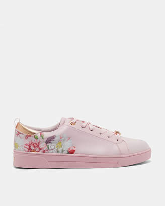 Ted Baker JYMINA Printed lace up trainers