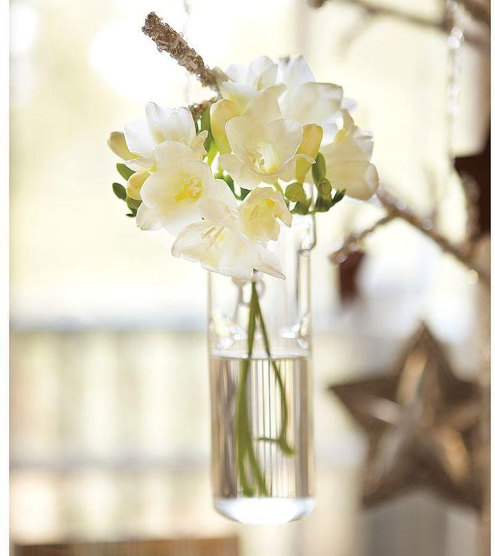 Hanging Bud Vase Ornament, Set of 4