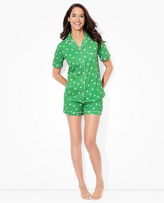 Women Love, Hanna Pima Cotton PJ Set $88 thestylecure.com