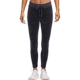 Juicy Couture Black Label Women's Stretch Velour Rodeo Drive Legging