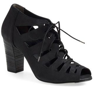 Paul Green 'Jansen' Lace Up Block Heel Sandal (Women)