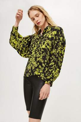 Topshop **Puff Sleeve Shirt by Boutique