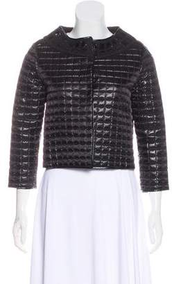 Proenza Schouler Quilted Scoop Neck Jacket