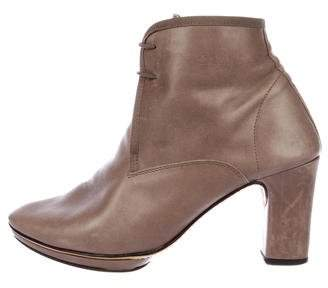 Repetto Leather Ankle Boots
