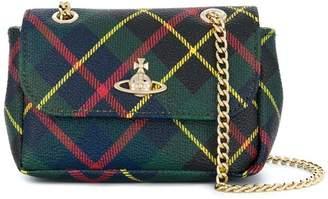 Vivienne Westwood plaid mini shoulder bag
