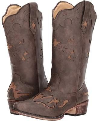 Roper Spade Cowboy Boots