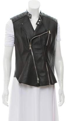 3.1 Phillip Lim Leather Biker Vest