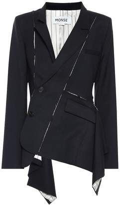 Monse Stretch-wool blazer