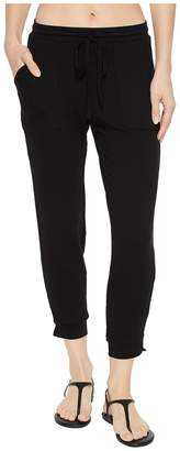 Michael Stars Elevated French Terry Drawstring Pant Women's Casual Pants