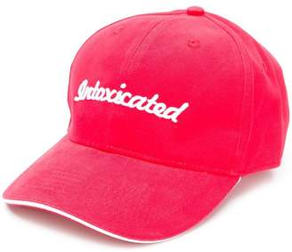 Intoxicated logo cap