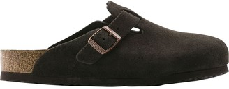 Birkenstock Boston Soft Footbed Suede Clog - Women's