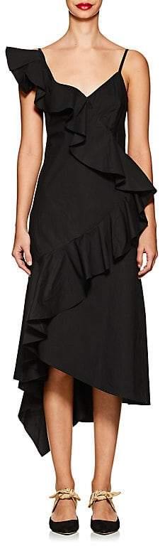 Teija Women's Ruffled Cotton Midi-Dress