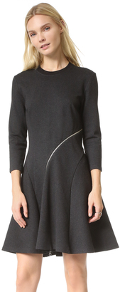 McQ - Alexander McQueen Ergonomic Zip Dress $450 thestylecure.com