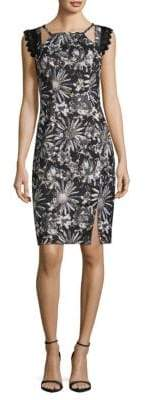 Badgley Mischka Sheath Dress
