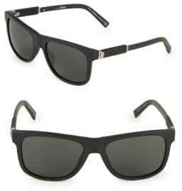 Montblanc 56MM Square Sunglasses