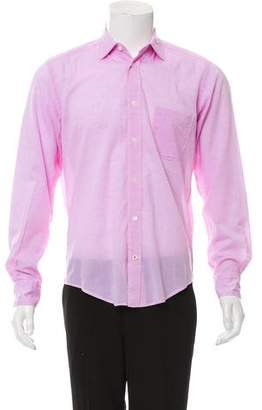 Hartford Woven Button-Up Shirt
