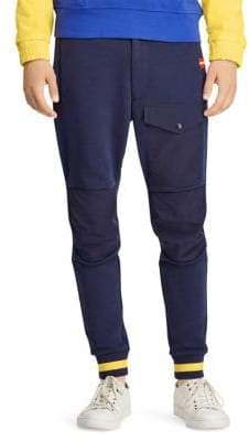 Polo Ralph Lauren Double Knit Quilted Athletic Pants