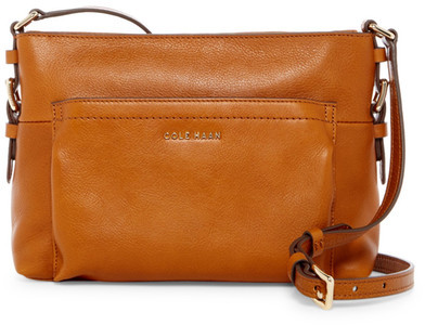 Cole Haan  Cole Haan Rockland Leather Crossbody