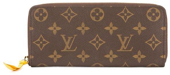 Louis VuittonLouis Vuitton Monogram Canvas Clemence Wallet (Pre Owned)
