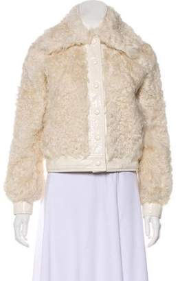 Tory Burch Fur-Accented Camilla Jacket