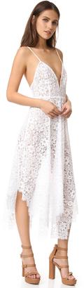 For Love & Lemons Rosemary Midi Dress $290 thestylecure.com