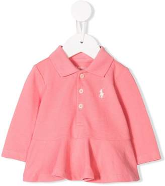 Ralph Lauren peplum polo shirt