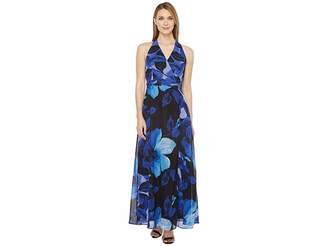 Christin Michaels Braeburn Chiffon Maxi Dress Women's Dress