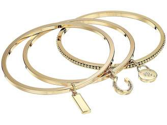 Lauren Ralph Lauren Beaded Charm Bangle Bracelet Set