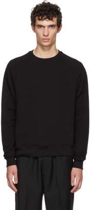 John Elliott Black Raglan Sweatshirt