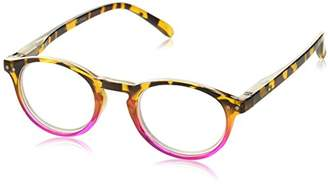 Peepers Unisex-Adult Book Club 933350 Round Reading Glasses