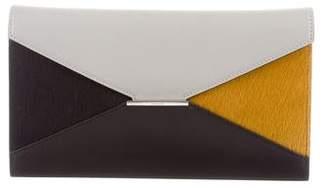 Celine Ponyhair Diamond Wallet