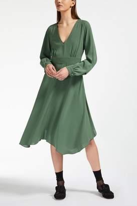 Max Mara Olive Midi Dress