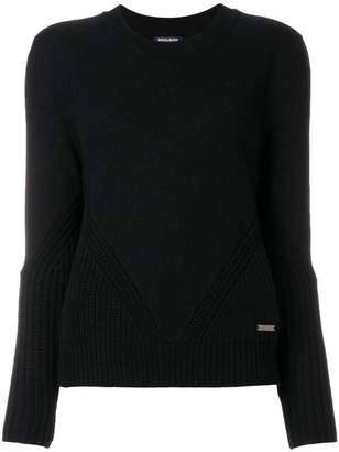 Woolrich ribbed trim sweater