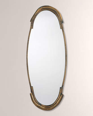 Jamie Young Margaux Mirror in Antiqued Brass