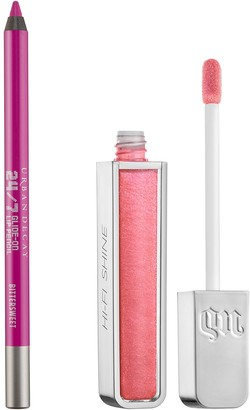 Urban Decay Hi-Fi Shine Lip Gloss & 24/7 Lip Liner Pencil Duo