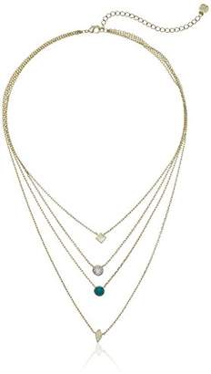 Jules Smith Designs Womens Colorful Stone Necklace