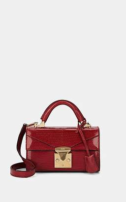 Stalvey Women's Top-Handle 2.0 Mini Lizard Satchel - Cerise