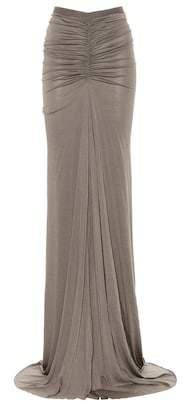 Rick Owens Jersey skirt