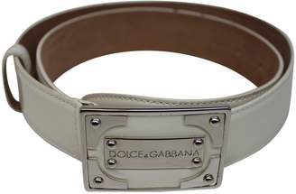 Dolce & Gabbana Patent leather belt