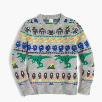 J.Crew Boys' Fun Isle crewneck sweater