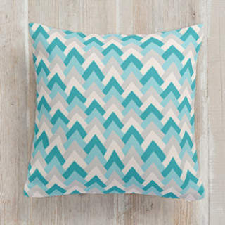 Deco Chevron Self-Launch Square Pillows