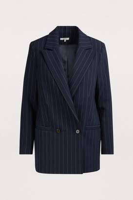 Ganni Hewitt double-breasted jacket