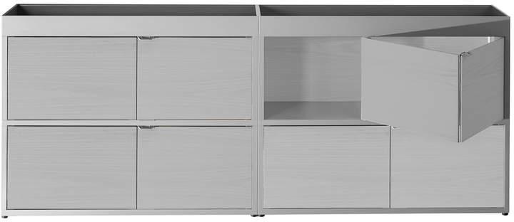 Hay - New Order Shelf Kitchen 200 x 90 cm, hellgrau