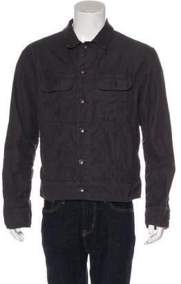 Rag & Bone Tweed Trucker Jacket