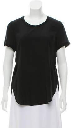 3.1 Phillip Lim Silk Short Sleeve Top